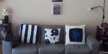 kim's organized living room